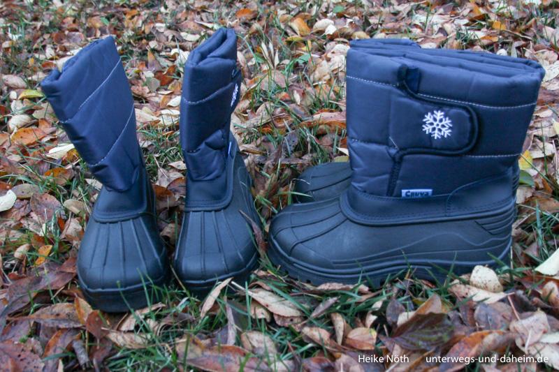 Gummistiefelexperte sorgt für warme Füße