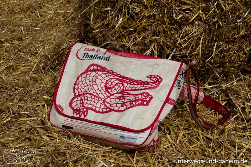Recycelte Taschen von Milchmeer, ich liebe sie