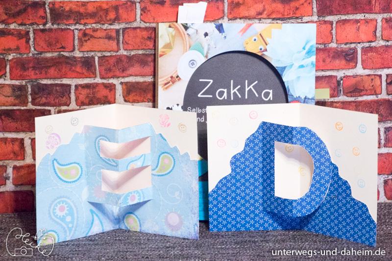 Basteln mit Zakka vom EMF Verlag