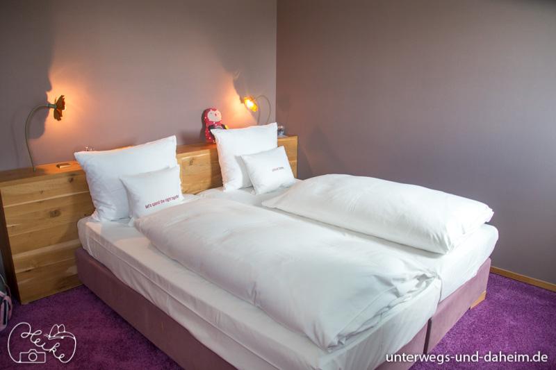 Gut geschlafen im 25hours Hotel the Goldman beim Franken Bloggertreffen