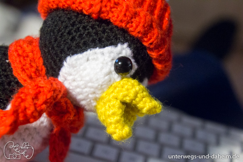 Bommel der Pinguin, Amigurumi