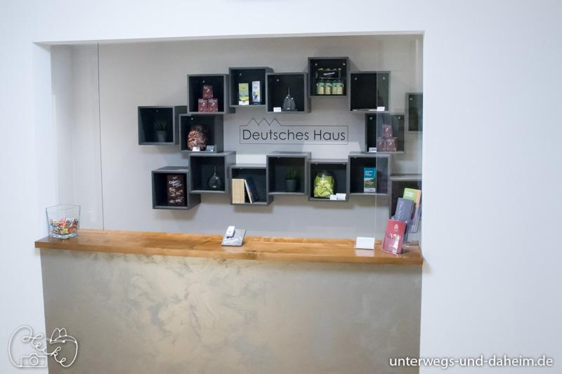 Das Deutsche Haus in Kitzigen, ein Hotel trifft auf das Frankenbloggertreffen
