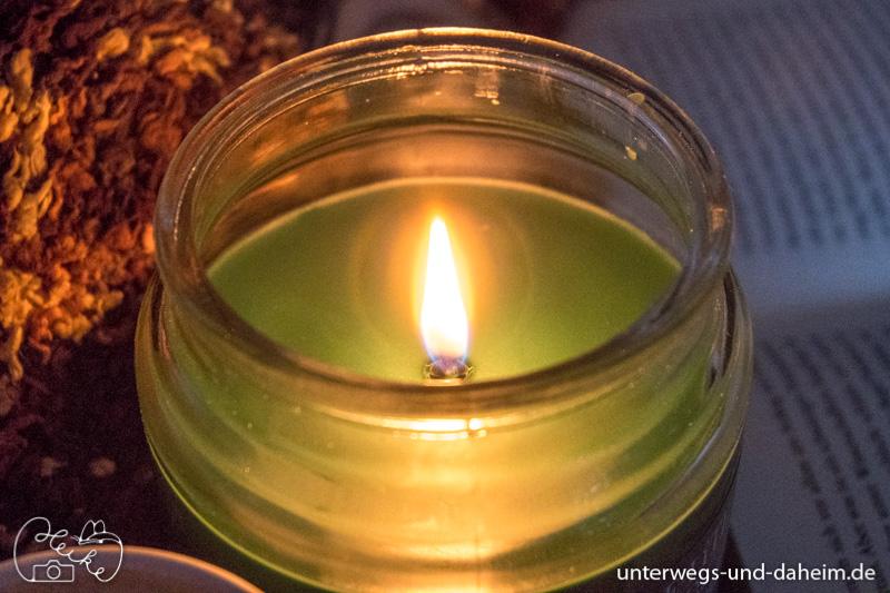 Auszeit genießen mit den Kerzen von Candle Lite