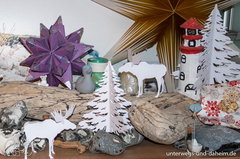 Schöne Weihnachtsdeko von der Buntpapierfabrik Ludwig Bähr URSUS