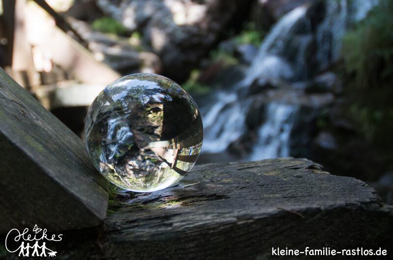 Wanderung zu den Rißlochwasserfällen