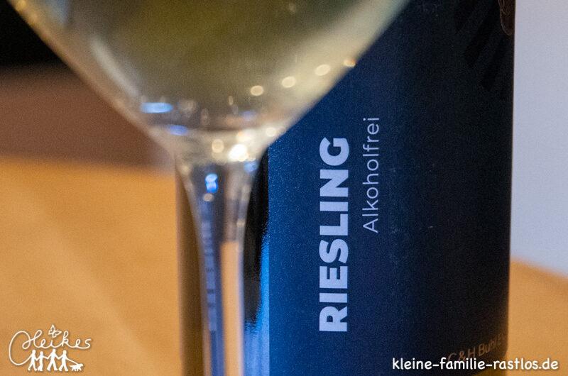 Genuss ohne Reue, alkoholfreier Wein von Hogapage