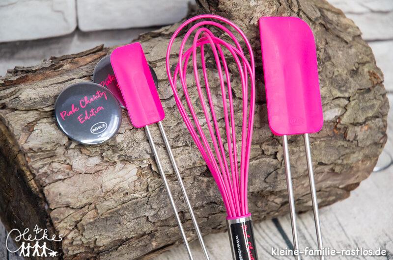 Pink Charity Aktion von Rösle