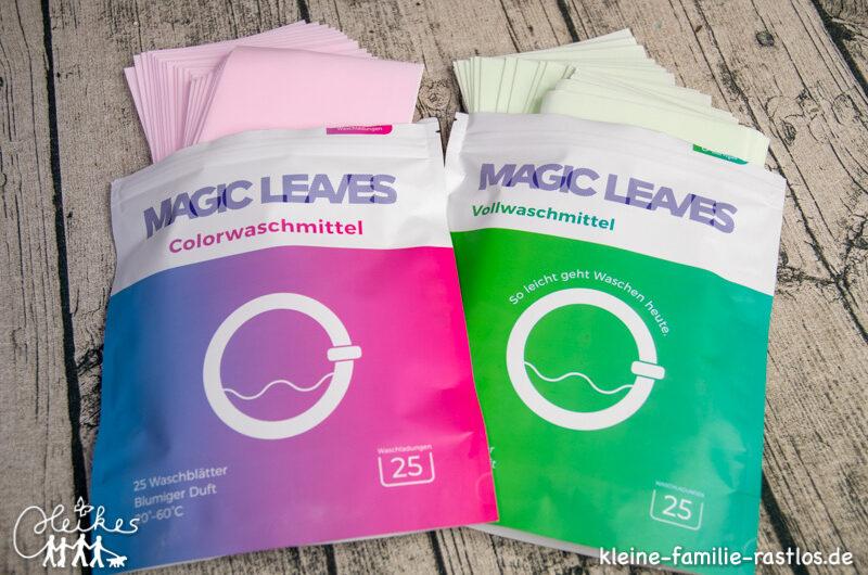 Umweltfreundlich waschen mit MAGIC LEAVES