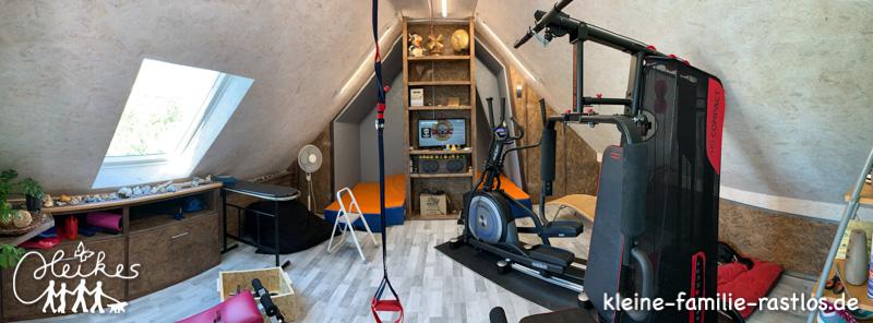 Der Dachboden wird zum Fitnessraum