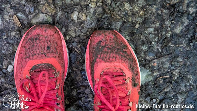 Persönliche Challenge von 50 000 Schritten am Tag
